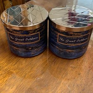 The great outdoors candle bundle